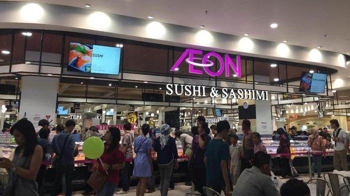 Ada Surga Sushi Murah Meriah Di Aeon Mall Jakarta Garden City Warta Kota