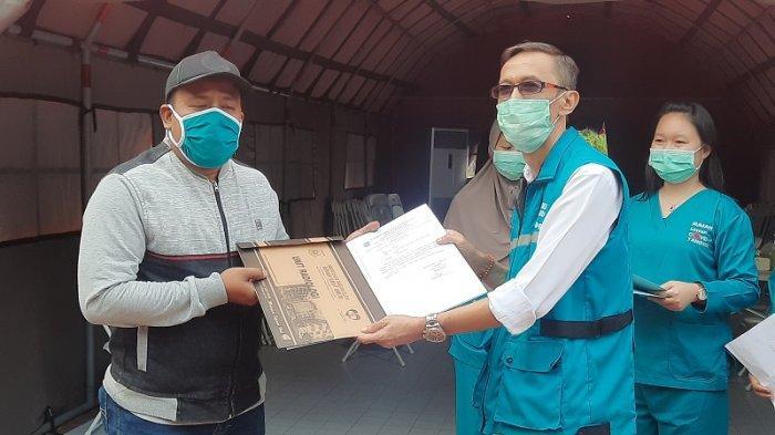 Kapten Arhanud Bangga Bisa Jadi Lurah di RLC Tangsel saat Menderita Virus Corona