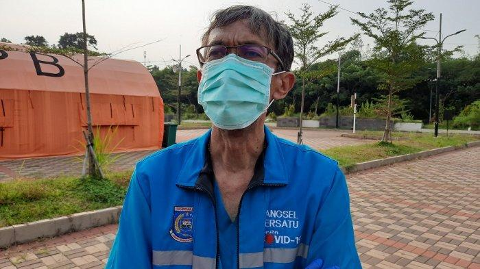 RLC Kota Tangsel Pulangkan Pasien Covid-19, Suhara : Masyarakat Tak Perlu Khawatir