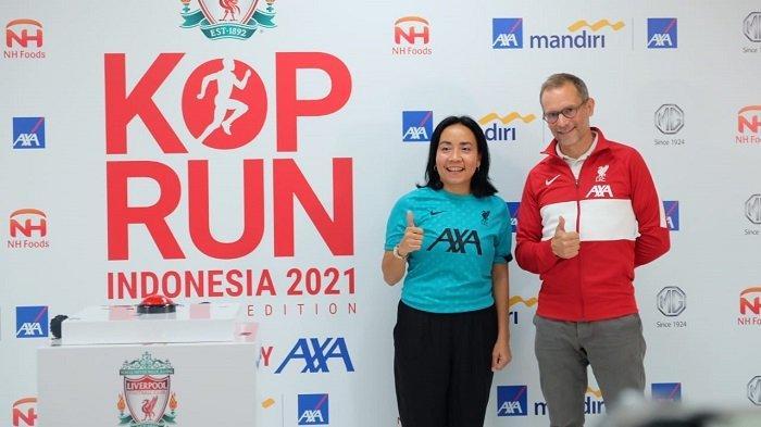 Liverpool FC, AXA, dan AXA Mandiri Gelar Kop Run Indonesia 2021 pada 14 Juni Sampai 25 Juli 2021