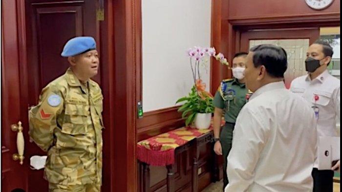 Prabowo Subianto Dibuat Kagum Koptu <a href='https://manado.tribunnews.com/tag/hardius-rusman' title='HardiusRusman'>HardiusRusman</a> yang Kuasai 7 Bahasa Asing, Janji Sekolahkan