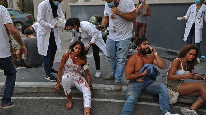 VIDEO Detik-detik Ledakan di Beirut yang Telah Menewaskan 73 Orang dan Ribuan Luka Sumber Aljazeera