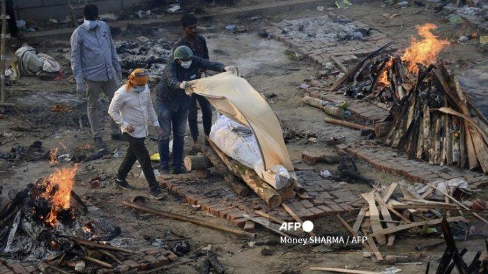 Krisis Covid-19 India Tak Kunjung Reda, Pemda New Delhi Minta Bantuan Militer