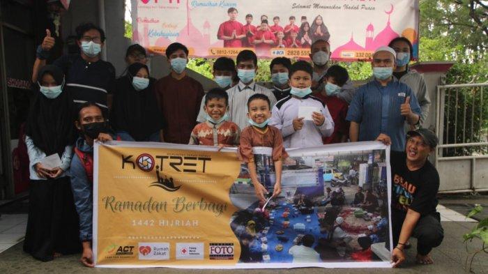 FOTO : Kotret Gelar Aksi Berbagi Ramadan Bersama Anak Yatim dan Dhuafa Kota Tangerang