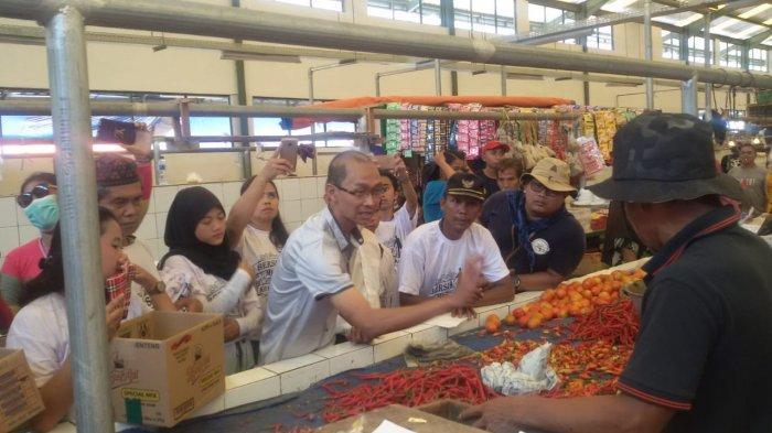 Pedagang Pasar Diharap Tidak Golput dan Pilih Pemimpin yang Tegakkan Pancasila