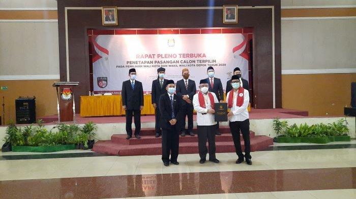 KPU Kota Depok Resmi Tetapkan Mohammad Idris - Imam Budi Hartono Pemenang Pilkada Depok 2020
