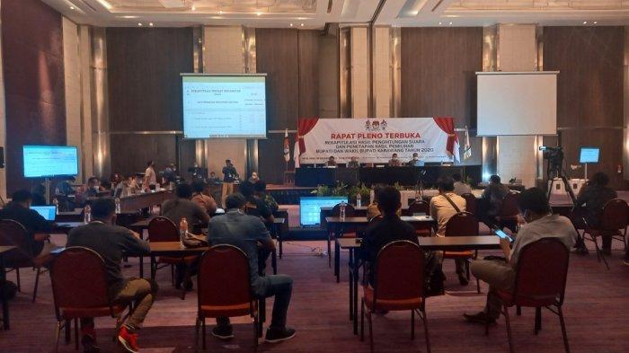 Rekapitulasi Surat Suara Pilkada Karawang, KPU Karawang Gelar Rapat Pleno Tingkat Kabupaten