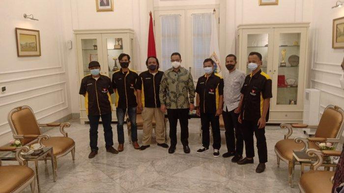 Salut dengan Layanan Kesehatan Ibu Kota, KPW Rekan Indonesia Temui Anies Baswedan