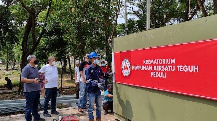 Krematorium Jenazah Covid di TPU Tegal Alur Siap Dipakai Warga Secara Gratis Mulai Sabtu 24 Juli