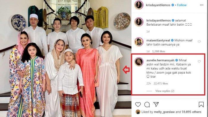 Seru, Aurel Hermansyah Sindir Krisdayanti Via Instagram, Raul Lemos Bela Istri, Sindir Balik Aurel