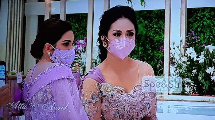 Krisdayanti Tak Terlihat di Siraman Aurel Hermansyah dan 'Diwakili' Yuni Shara, Kemana Diva Pop Itu?