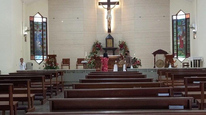 Tak Semua Keluarga Bisa Ikut Ibadah ke Gereja, Elina Berharap Pandemi Virus Corona Segera Berakhir