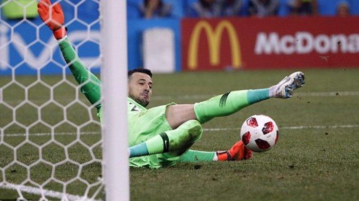 Final Piala Dunia 2018 : Prancis Unggul 1-0 Lewat Gol Bunuh Diri