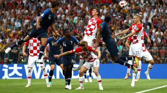Final Piala Dunia 2018 : Prancis nyaris Juara Dunia 2018. Selamat!