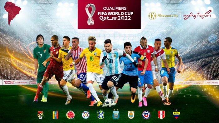 Nine Sport Hadirkan Virtual Ad di Kualifikasi Piala Dunia Qatar 2022 Zona Amerika Selatan