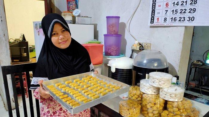 Harga Bahan Kue Naik, Kue Kering Lebaran Produksi Ibu Anna Bogor Hanya Terima Pesanan