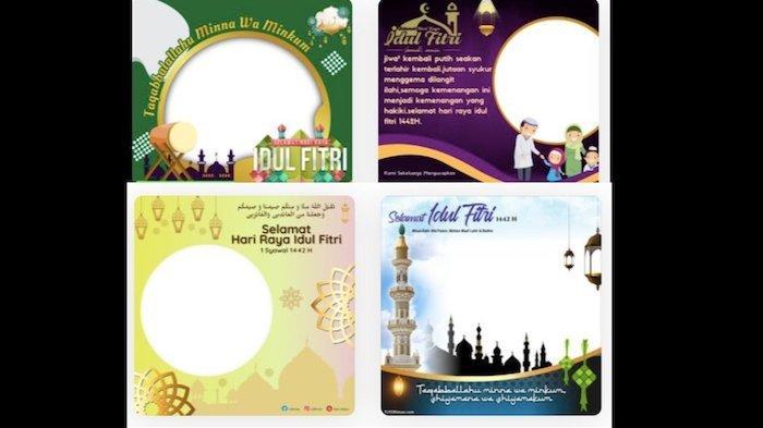 Kumpulan Twibbon Ucapan Selamat Idul Fitri 2021 Cocok Dibagikan di Media Sosial