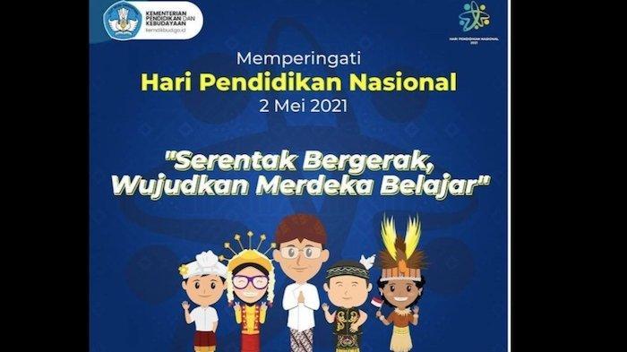 Kumpulan Ucapan Hari Pendidikan Nasional 2021 untuk Pelajar dan Pendidik, Ada Link Twibbon