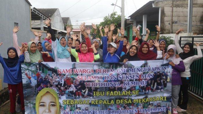 Kades Mekarsari Serap Aspirasi Warga GMI Lewat Senam Pagi Bareng
