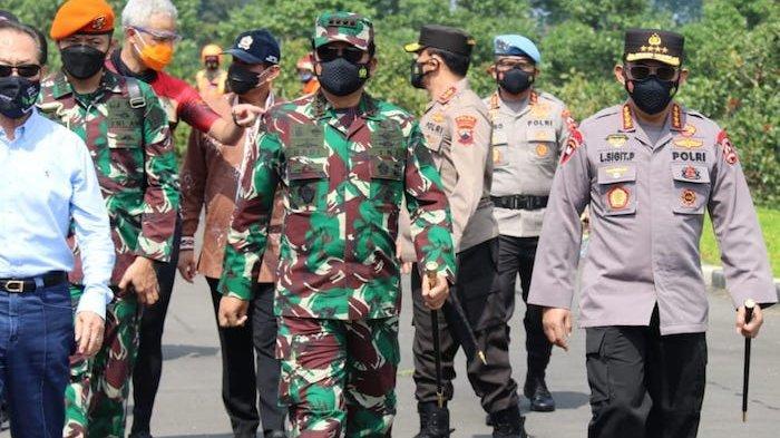 Kasus Covid-19 Tertinggi ada di Kabupaten Kudus, Begini Cara Kapolri dan TNI Mengatasinya