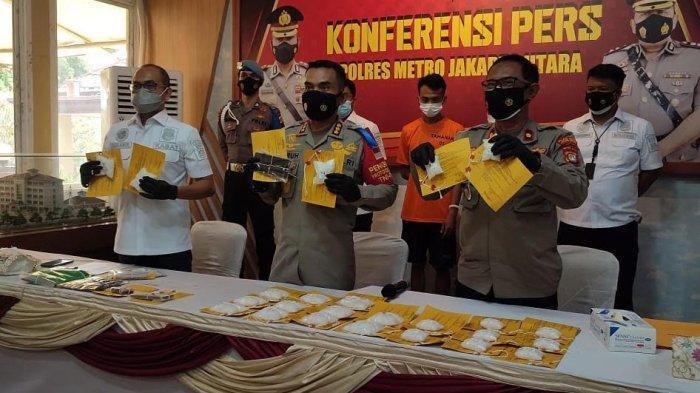 Polisi Gagalkan Upaya Pengiriman 2 Kg Sabu, JM dan MP Akui Sudah Janji dengan Dua Pemesan