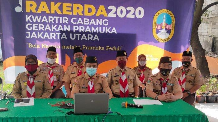 Pandemi Covid-19, Kwarcab Pramuka Jakarta Utara Usulkan Dua Program Prioritas di Rakerda 2020