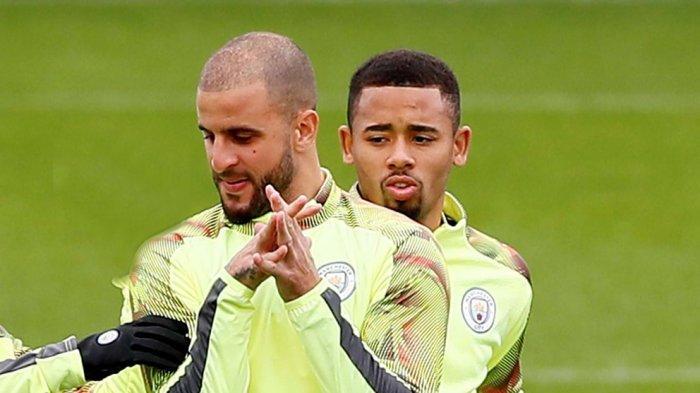 Gabriel Jesus, Kyle Walker dan Dua Staf Manchester City Positif Virus Corona