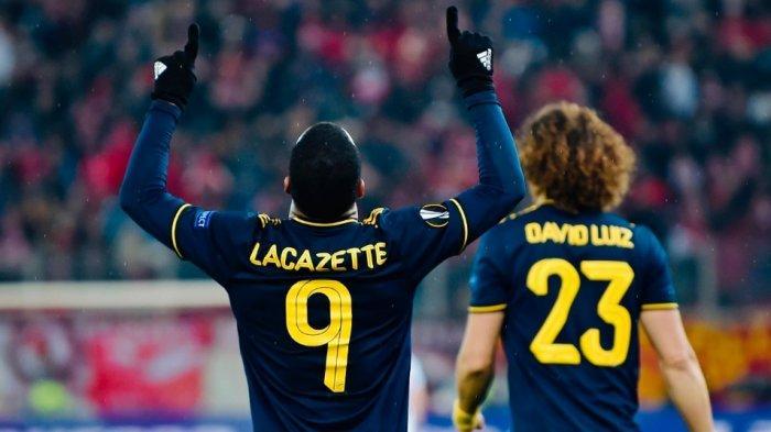 HASIL Lengkap Liga Europa, Arsenal Akhirnya Menang 1-0 Lawan Olympiakos Melalui Gol  Lacazette