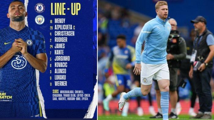 Sedang Berlangsung Chelsea vs Manchester City 0-0, Dukungan untuk Timo Werner Saat Serangan Balik