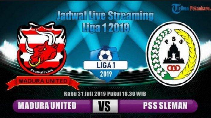 Madura United Gagal ke Puncak Klasemen Liga 1, Kalah 0-1 dari PSS Sleman