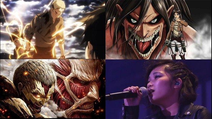 Lirik Lagu Jerman Vogel Im Käfig Versi YouSeeBIGGIRL Soundtrack Shingeki No Kyojin - Attack On Titan