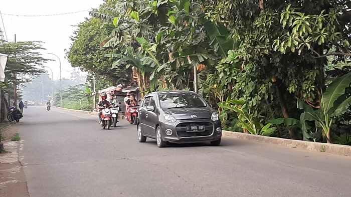 Pagi Ini Jalan Raya Cipayung Menuju Bojonggede Lancar di Kedua Arah