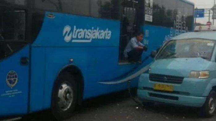 Terserempet Bus Transjakarta, Pengendara Motor di Kramatjati Jakarta Timur Tewas Terlindas