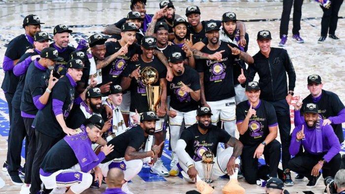 LA Lakers Rebut Trophy NBA 2020, LeBron James Raih MVP Final Keempat Kalinya
