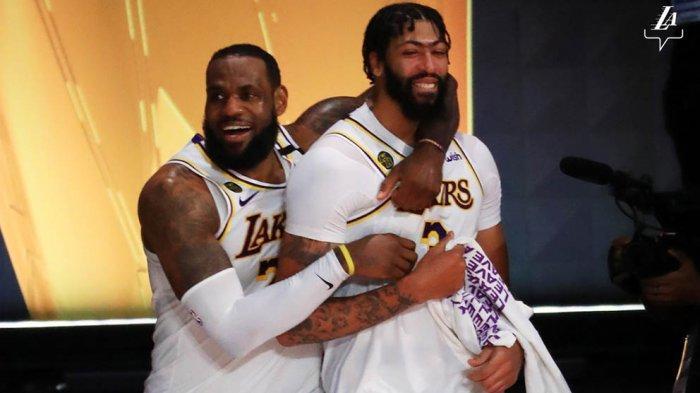 Duet LA Lakers, LeBron James dan Anthony Davis menjadi halangan untuk Miami Heat di final NBA 2020