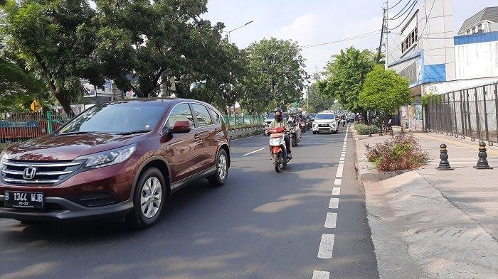 TRAFFIC UPDATE: Jalan-jalan di Jakarta Barat Mulai Ramai saat Masa PSBB Transisi dan New Normal