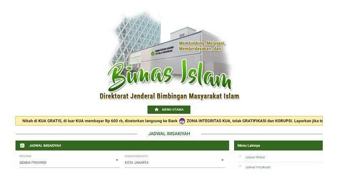 Jadwal Imsakiyah dan Jadwal Salat untuk Seluruh Wilayah DKI Jakarta Selama Bulan Suci Ramadan 2021