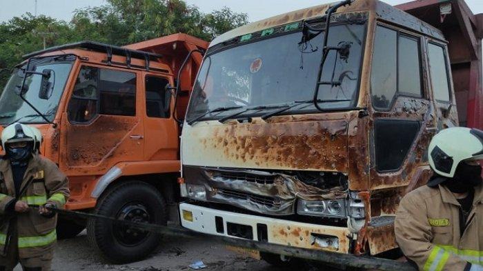 BREAKING NEWS: Lapak Barang Bekas di Cakung Terbakar Sabtu Pagi, Ini Taksiran Kerugian