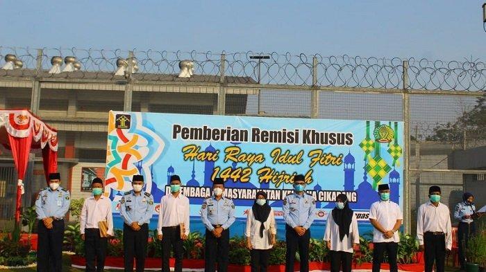 955 Warga Binaan Lapas Cikarang Dapat Remisi Idul Fitri 2021, Tiga Orang Langsung Bebas
