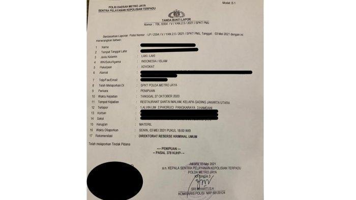 Diduga Catut Nama Kapolda Metro Jaya, Alvin Lim Dipolisikan Sejumlah Nasabah Investasi Fikasa Group