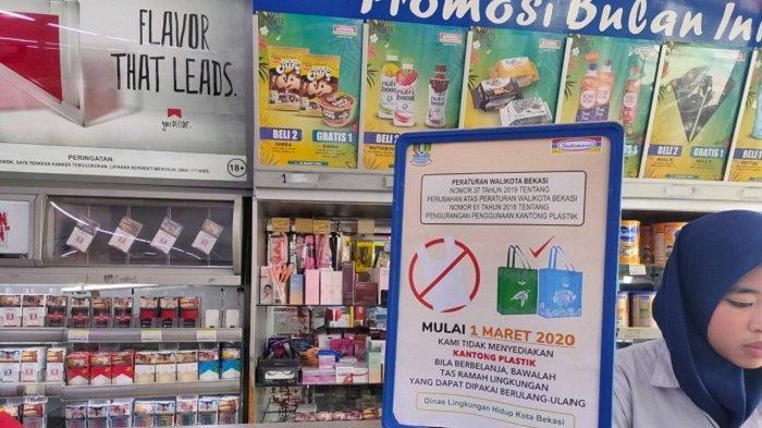 Ingat, Alfamart dan Indomaret di Kota Bekasi Sudah Tidak Sediakan Kantong Plastik tapi Kantong Kain