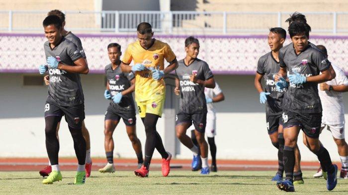 Pemain Persita tetap berlatih sebelum Liga 1 diijinkan bergulir lagi