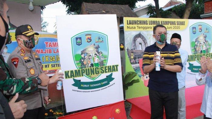 Polri Dirikan Sederetan Kampung Sehat di Berbagai Daerah, Libatkan Masyarakat Cegah Covid-19