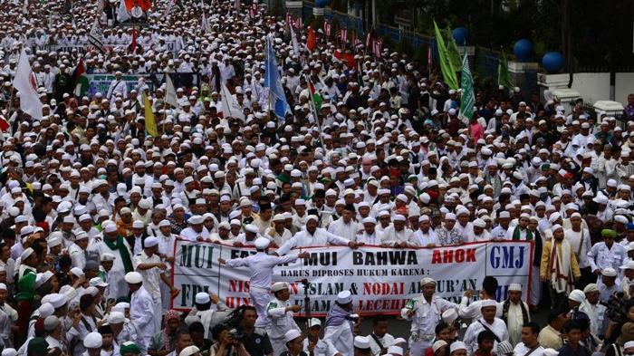 Ahok Tuduh Demonstrasi Semata-mata Ulah Provokator Bertujuan agar Dia Gagal Maju