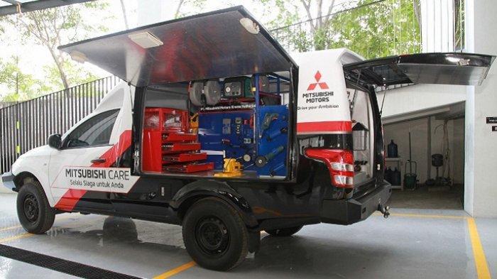 Pelanggan Tetap di Rumah, Mitsubishi Tawarkan Layanan Home Service dan Vehicle Pick-up Cegah Corona