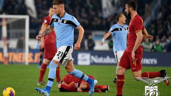 Lazio Sukses Mentahkan Dominasi AS Roma dengan Skor 1-1, Namun Gagal Gusur Inter Milan di Klasemen