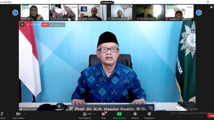 Ketua PP Muhammadiyah Haedar Nashir Apresiasi Survei yang Dilakukan Lazismu