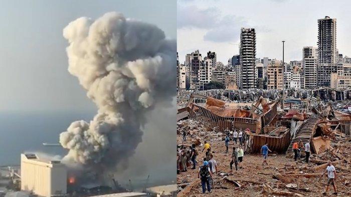 Presiden Lebanon: 2.750 Ton Amonium Nitrat Terkait dengan Ledakan Masif di Beirut