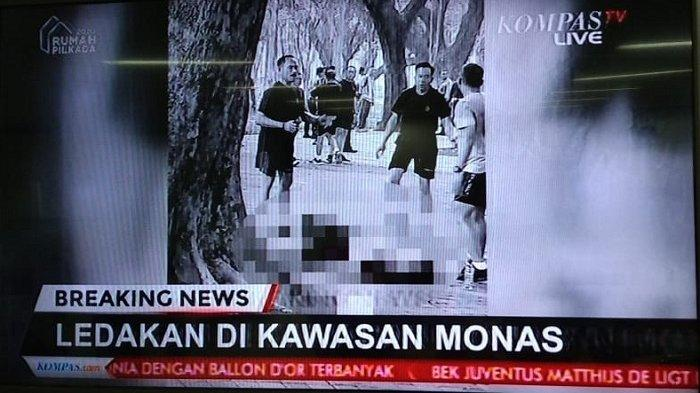 BREAKING NEWS: Ledakan di Monas Jakarta Pusat, Dua Anggota TNI Jadi Korban