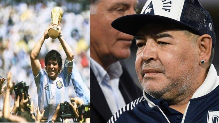 Legenda Sepakbola Diego Maradona Meninggal karena Serangan Jantung Sebulan Setelah Ulang Tahun